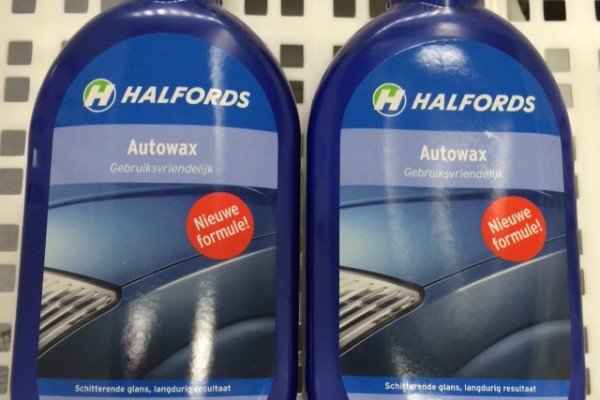 Discount in Leiden Halfords: discount 2