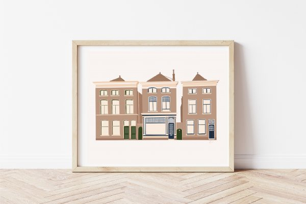 Discount in Leiden: My Leiden Cottage drawn