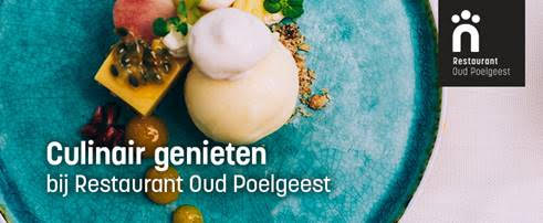 Order and enjoy culinary at home at Restaurant Oud Poelgeest!