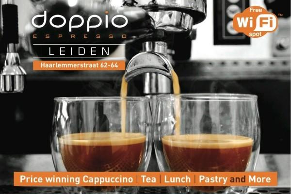 Discount in Leiden Doppio: 20% discount