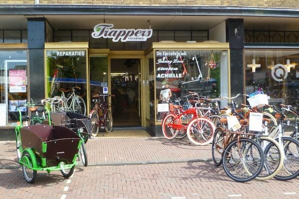 Korting in Leiden: Fietswinkel Trappers